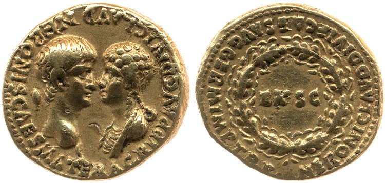 Agrippina and Nero 54 BM