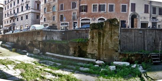 Muro di Saepta Iulia