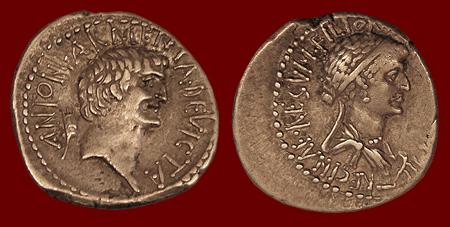 antony_cleopatra coin VRoma