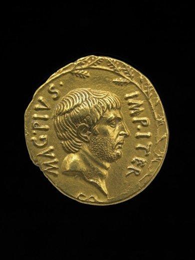 Coin of Sextus Pompeius