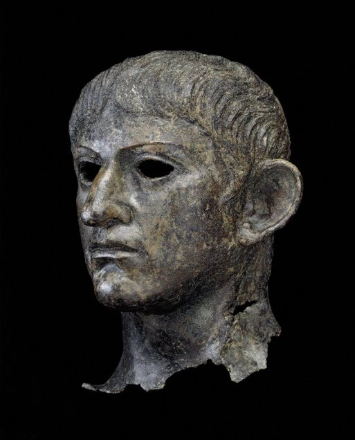 Head of Claudius Colchester