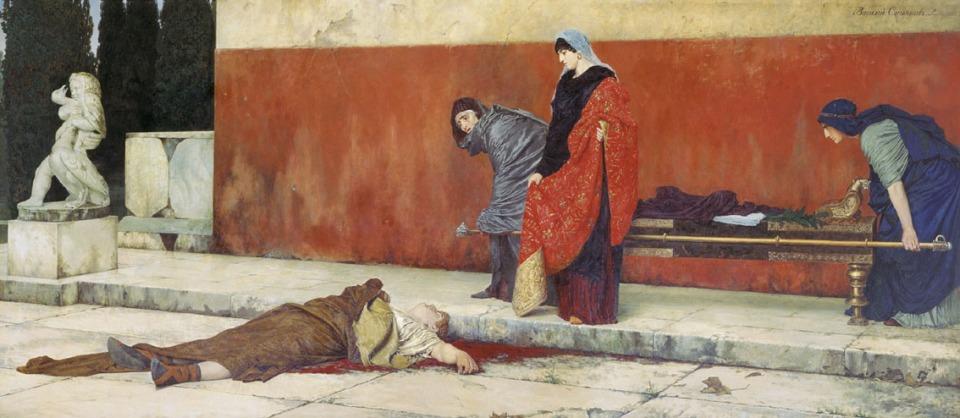 Vasiliy_smirnov_Death of Nero