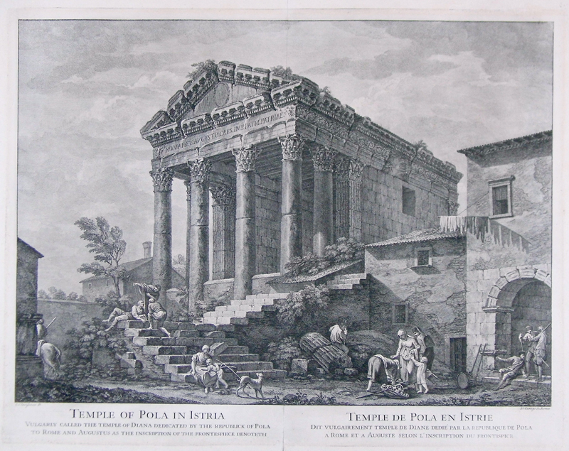 Temple of Augustus Pula