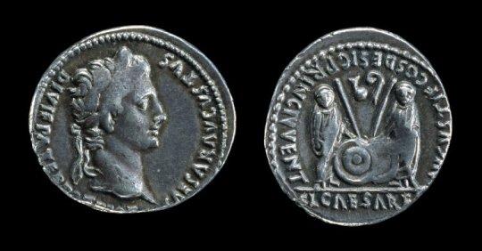 Gaius and Lucius Caesar BM