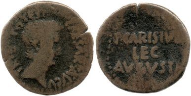 Augustus Tribunicia Potestas Coin Emerita