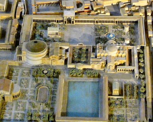 Pantheon_ThermesAgrippa_SeptaJulia