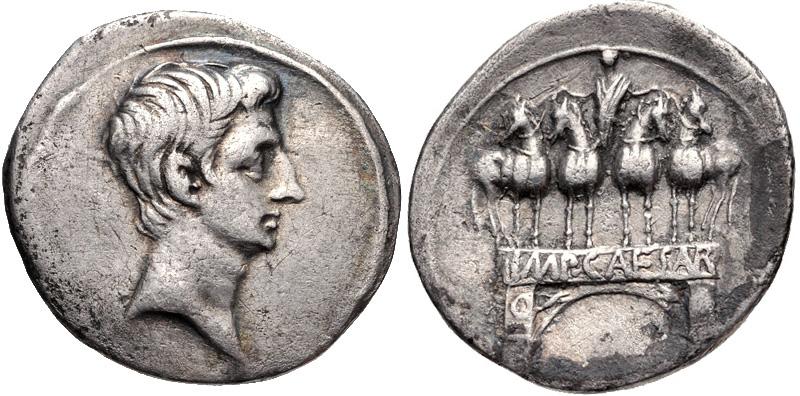 AUGUSTUS Actium Arch_RIC_I_267-2370391