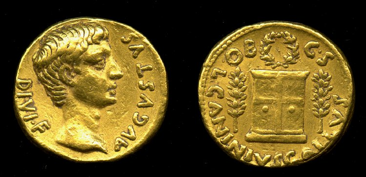 Aureus House of Augustus