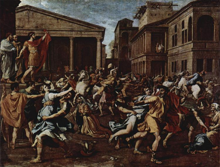 Poussin the-rape-of-the-sabines-1638
