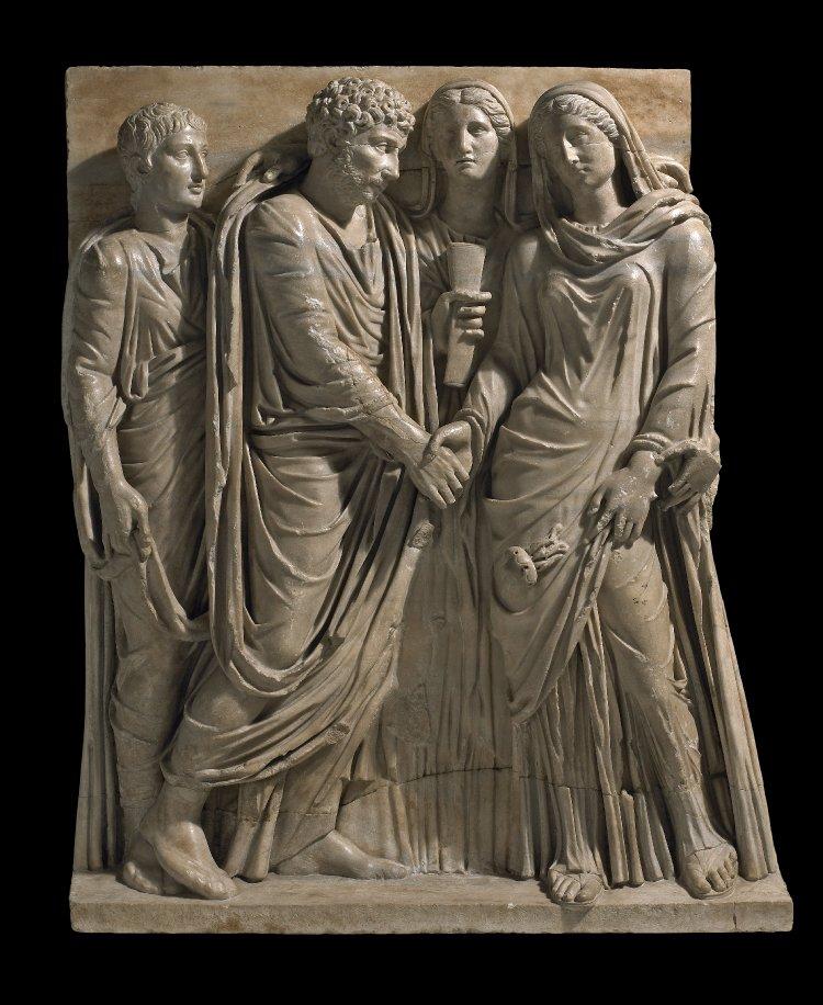 Roman Marriage Sarcophagus 2nd c
