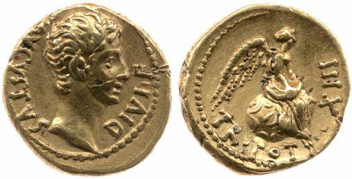 Augustus Coin Trib pot victory BM