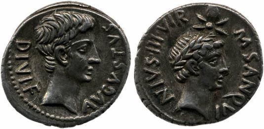 Augustus Divi filius BM